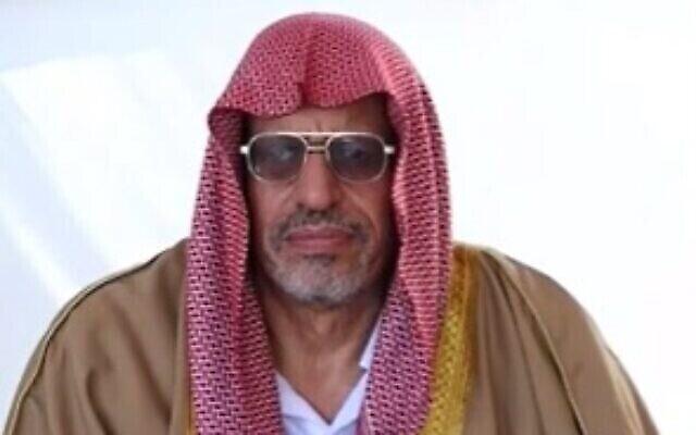 L'imam de Lod Yusuf Elbaz (capture d'écran : YouTube)