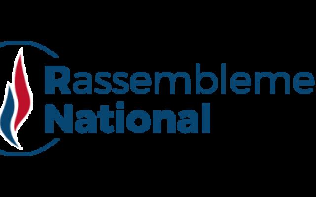 Logo du Rassemblement national.