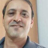 Yigal Yehoshua, 56 ans, est mort après avoir été frappé à la tête par une brique alors qu'il rentrait chez lui en voiture à Lod. (Courtoisie)