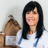 Katharina Arrigoni, boulangère suisse.  (Crédit : autorisation via JTA)