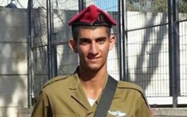 Le sergent-chef Bnaya Rubel, 20 ans, a été tué au cours de l'opération Edge. (Crédit photo : IDF)
