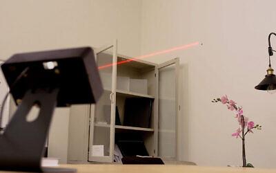 Le détecteur de moustiques développé par Bzigo en action. (Autorisation)