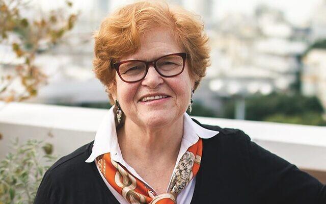 """Deborah Lipstadt, auteur de """"Antisemitism : Here and Now"""" (Crédit : courtoisie)"""
