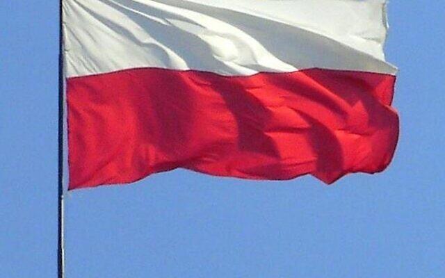Drapeau de la Pologne. (Domaine public)