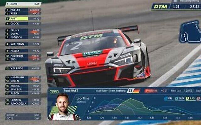 Griiip a développé un logiciel basé sur le cloud qui permet aux fans, aux pilotes et aux joueurs de l'équipe d'obtenir des données en temps réel provenant des voitures de course, afin d'avoir une idée du niveau de stress du pilote, des données sur les pneus et de l'état de la batterie, et de comparer les performances des pilotes (Crédit  : Courtesy).