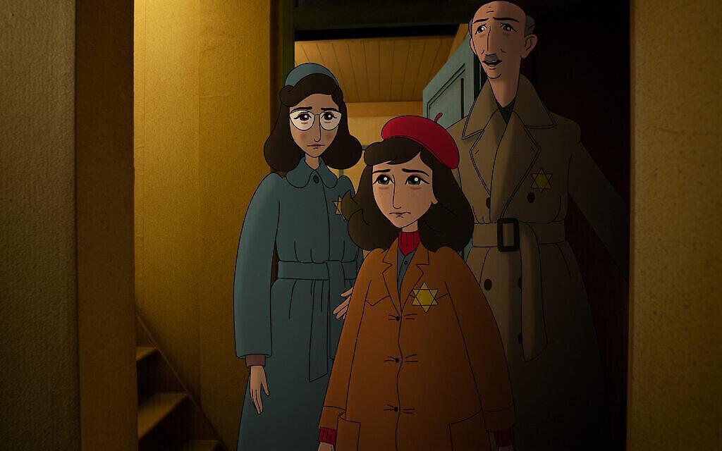 """Une photo du film """"Where is Anne Frank"""" du réalisateur Ari Folman. (Crédit : Purple Whale Films)"""