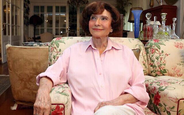 Anita Novinsky (avec l'aimable autorisation de la Fédération juive de Sao Paulo)