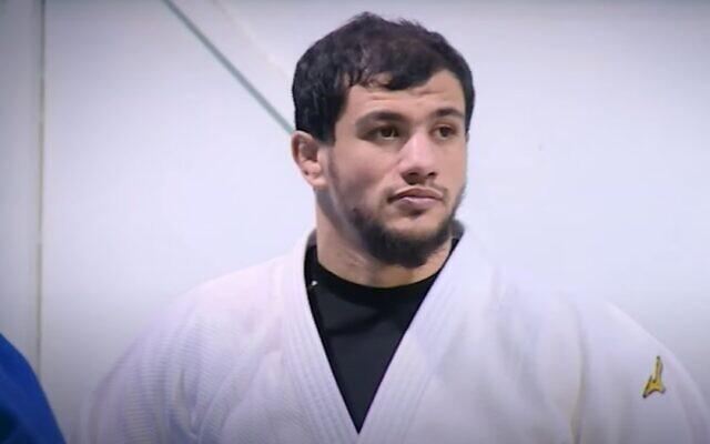 Le judoka algérien Fethi Nourine. (Capture d'écran)