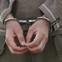 Photo illustrative d'un prisonnier (Kobi Gideon/Flash90)