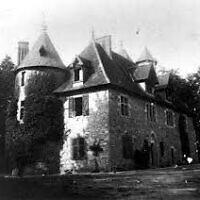 Le château de Montintin. (Crédit : Yad Vashem)