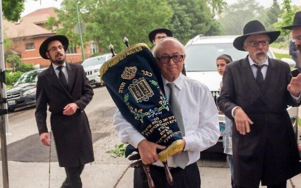 Leon Oliwkowicz. (Crédit : Chabad.org via JTA)