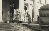 Des œuvres d'art rapatriées, entre 1945 et 1949. (Crédit : Johannes Felbermeyer/ Getty Research Institute, Los Angeles)