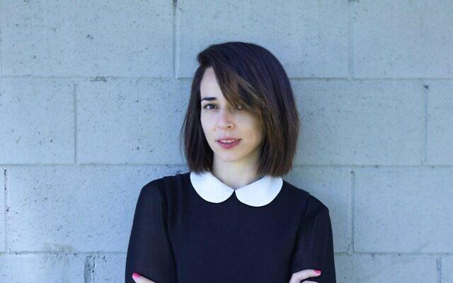 Julia Fermentto Tzaisler, nouvelle directrice artistique du Festival international des écrivains de Jérusalem. (Autorisation :  Ziv Bercovich)