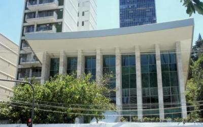 Une vue de la synagogue Associacao Religiosa Israelita à Rio de Janeiro. (Crédit : avec l'aimable autorisation de l'Associacao Religiosa Israelita, Association Religieuse Israelite)