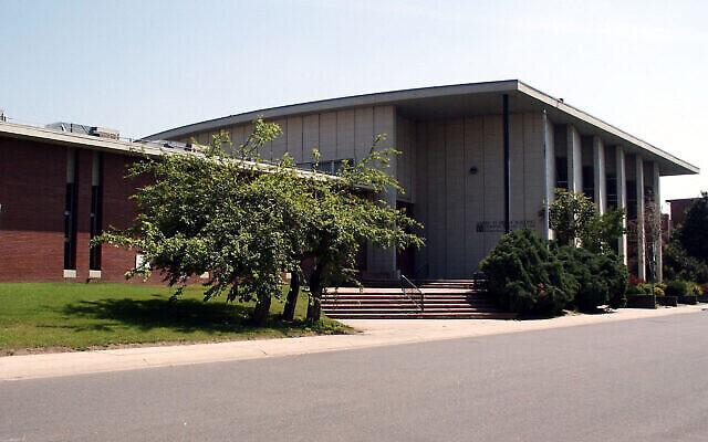 La Yeshiva Toras Chaim est située dans le quartier de West Colfax à Denver et fait partie du centre historique de la communauté juive de la ville. (Crédit : Wikipedia via JTA)