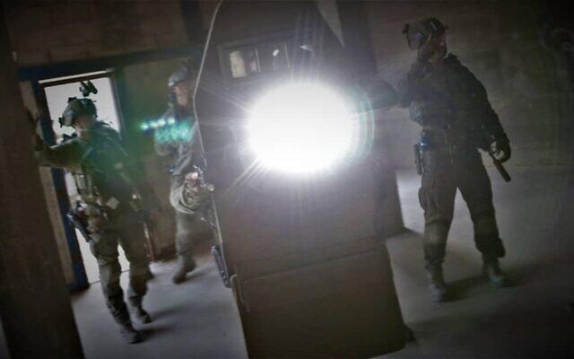 Photo d'illustration : Les forces antiterroristes Yaman pendant la formation. (Crédit : Police israélienne)