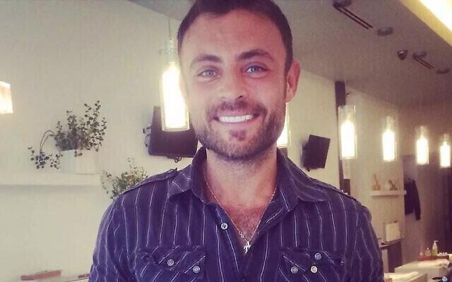 Fabien Azoulay, un homosexuel juif français purgeant une peine de prison en Turquie pour des délits liés à la drogue. (Autorisation de la famille Azoulay, via JTA)