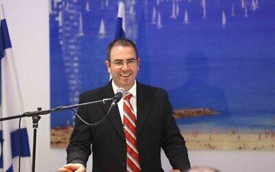 Le Dr. Gil Limon a été nommé procureur général adjoint le 2 août 2021. (Autorisation / Gideon Sharon)