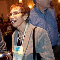 Ruth Pearl lors de la célébration du centenaire de l'ACM Turing à San Francisco, le 18 juin 2012 (Ryan Anson/AP Images for Association for Computing Machinery).
