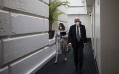 WASHINGTON, DC - Le chef de la majorité à la chambre Steny Hoyer (Démocrate du Maryland) au Capitole américain de Washington, le 21 septembre 2021. (Crédit : Anna Moneymaker / GETTY IMAGES NORTH AMERICA / Getty Images via AFP)