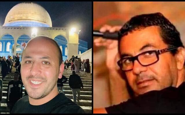 Khaled az-Zawi, à gauche, et Ahmad Amash, à droite. (Autorisation)