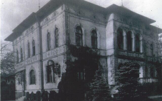 La villa de Fritz et Thea Goldschmidt à Breslau. (Crédit : avec l'aimable autorisation de la famille Goldschmidt)
