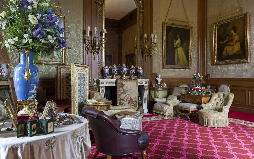 La salle du Baron au manoir de Waddesdon. (Crédit :  Waddesdon Image Library/ Chris Lacey)
