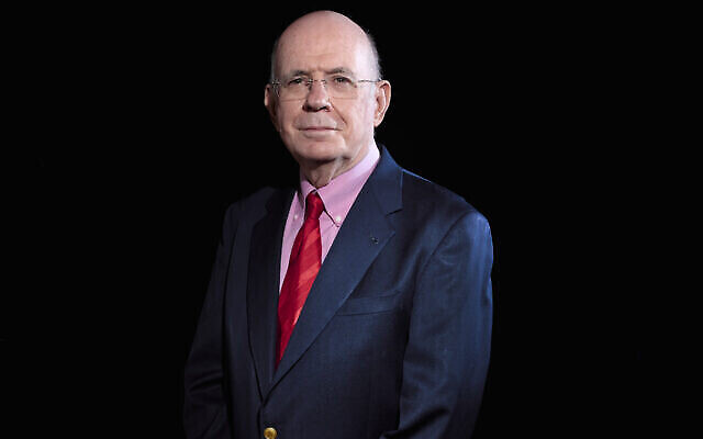 Le professeur Eliezer Rabinovici, 24e président du Conseil du CERN (Crédit : CERN)