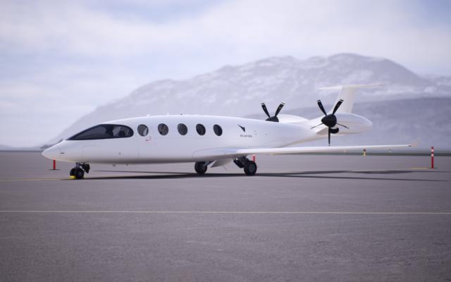 L'avion 100% électrique Alice d'Eviation Aircraft. (Crédit : Eviation)