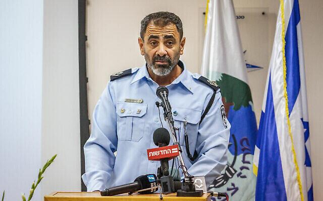 Le général de brigade Tomer Bar lors d'une cérémonie sur la base militaire Rabin, le 20 juin 2020. (Crédit : Armée israélienne)
