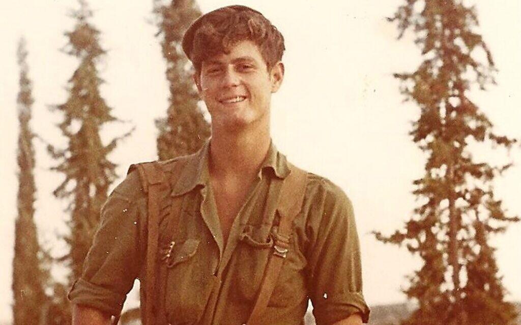 Jacob Rayman, immigrant américain de Seattle, dans l'état de Washington, mort pendant la guerre de Yom Kippour. (Autorisation de la famille Rayman)