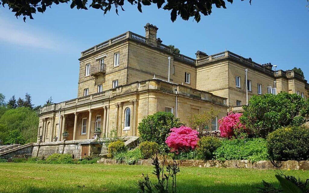 L'extérieur du domaine de la famille Salomon, dans le  du Kent, qui est devenu un lieu de conférence. (Autorisation :  Salomons Estate)