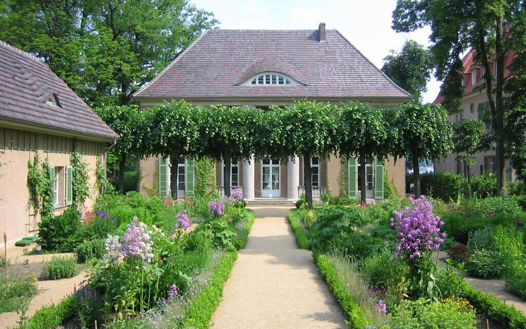 La villa Liebermann à Wannsee. (Crédit : Max-Liebermann-Gesellschaft Berlin)