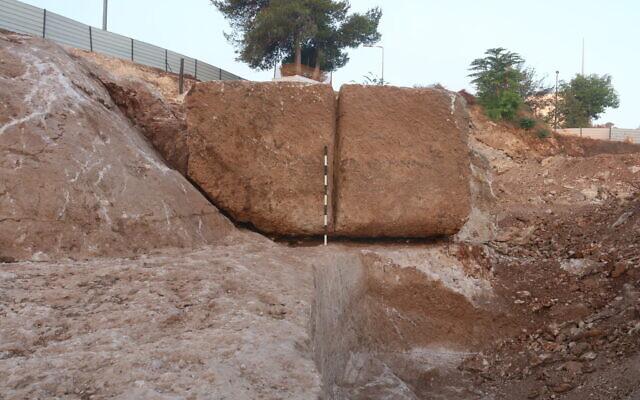 Jérusalem : une carrière à l'origine des pierres du Second Temple ? | The Times of Israël