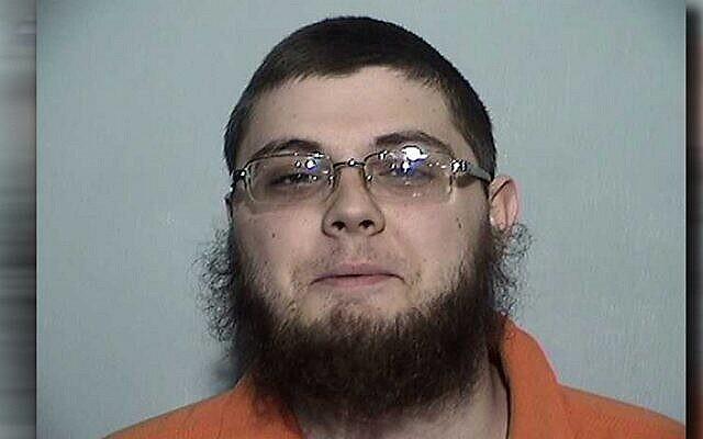 Damon Joseph, arrêté le 7 décembre 2018, fait face à des accusations fédérales de terrorisme pour avoir comploté d'attaquer une synagogue à Toledo, dans l'Ohio. (Ministère américain de la Justice)