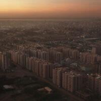 Cette photo d'archive du 9 janvier 2020 montre une vue générale de Khartoum, au Soudan. (AP Photo/Nariman El-Mofty)
