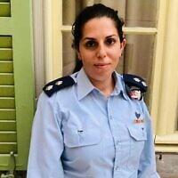 La lieutenant-colonel Revital Barzani. (Crédit : Armée israélienne )