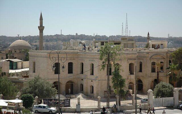 La vieille ville d'Alep en 2017. (Crédit :CC BY-SA 3.0)