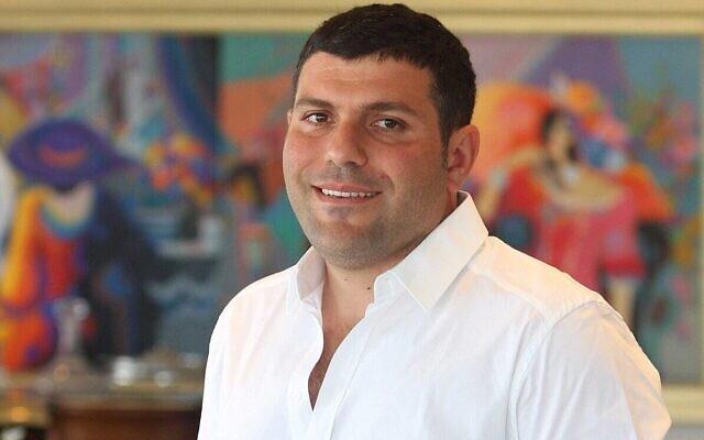 L'homme d'affaires israélien Teddy Sagi (Autorisation)