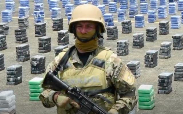 Un policier au Panama. Illustration. (Crédit : capture d'écran YouTube)