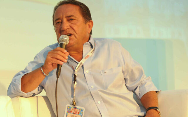 L'homme d'affaires israélien Yossi Maiman, le 14 juillet 2009. (Autorisation)