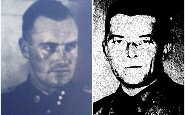 Bernhard Grafhorst, à gauche, et Viktor Trill, à droite. (Crédit : BYHMC)
