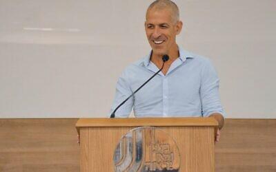 Le nouveau chef du Shin Bet, Ronen Bar, le 11 octobre 2021 (Crédit : Shin Bet)