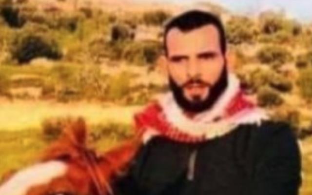 Ahmad Zahran, tué lors d'un échange de coups de feu avec les soldats israéliens près de Bidu, le 25 septembre 2021. (Autorisation)