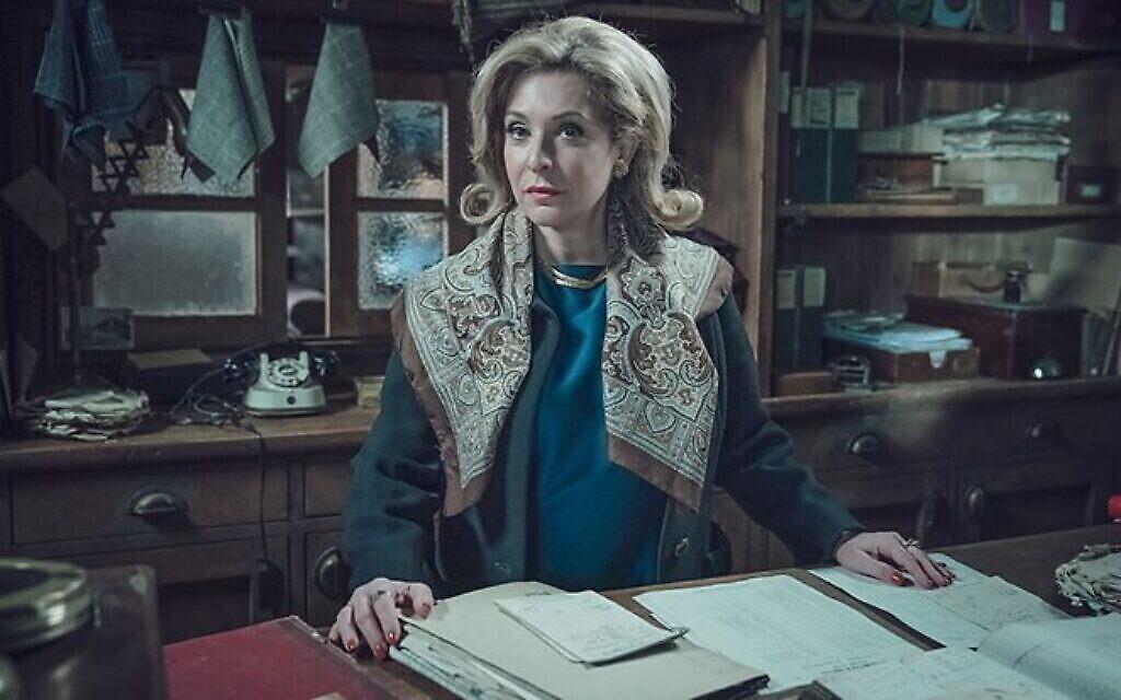 "Tracy-Ann Oberman dans le rôle de Nancy Malinovsky dans ""Ridley Road"". (Courtoisie de Red Productions)"