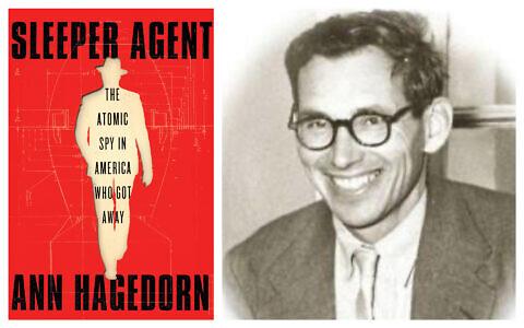 A gauche : La couverture de 'Sleeper Agent,' écrit par Ann Hagadorn; A droite : George Koval lorsqu'il était professeur à l'institut Mendeleev de Moscou, dans les années 1950. (Autorisation)