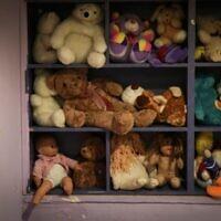 La salle de jeux pour enfants dans un refuge pour femmes victimes de violence à Beit Shemesh, le 15 juillet 2014 (Crédit : Hadas Parush / Flash90)