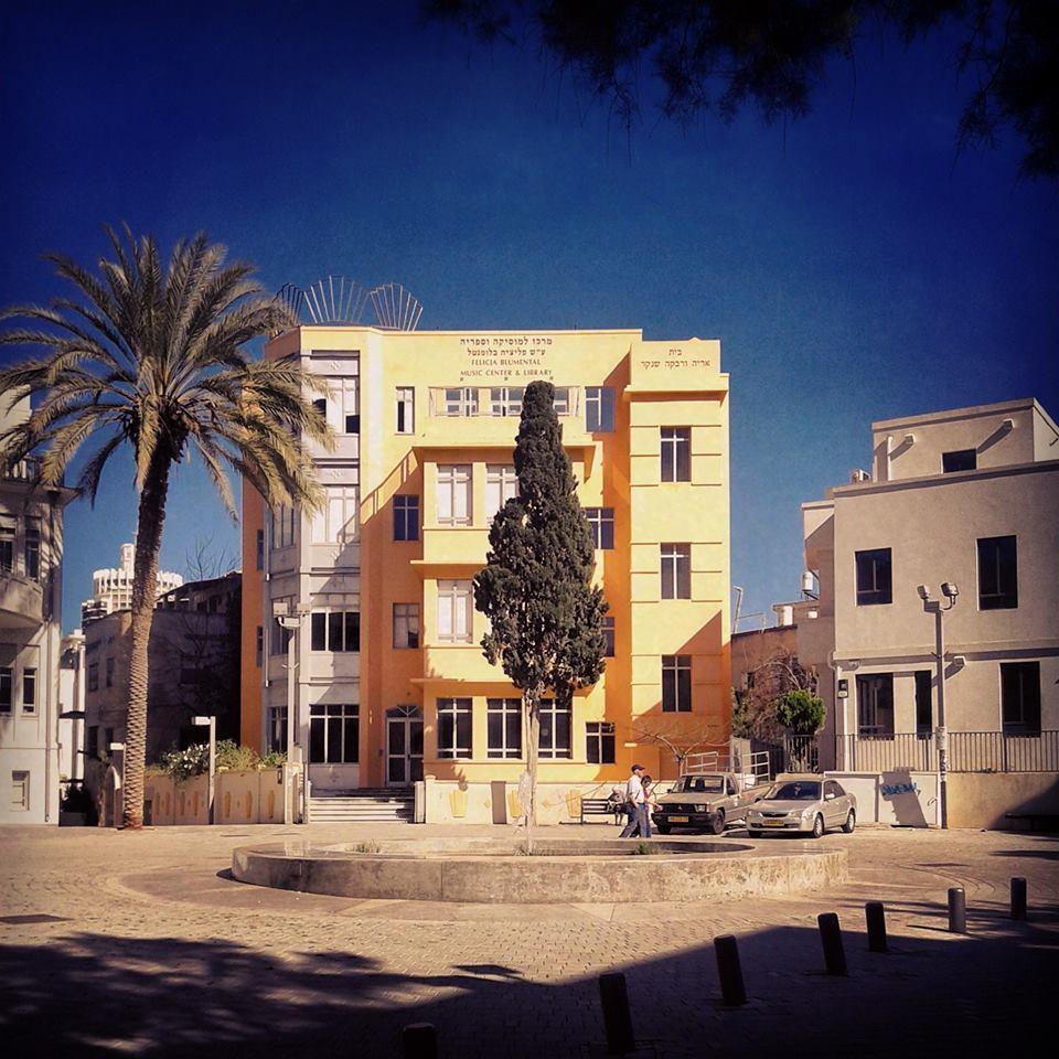 17/02/2016 - Tel Aviv today – à פליציה בלומנטל Felicja Blumental
