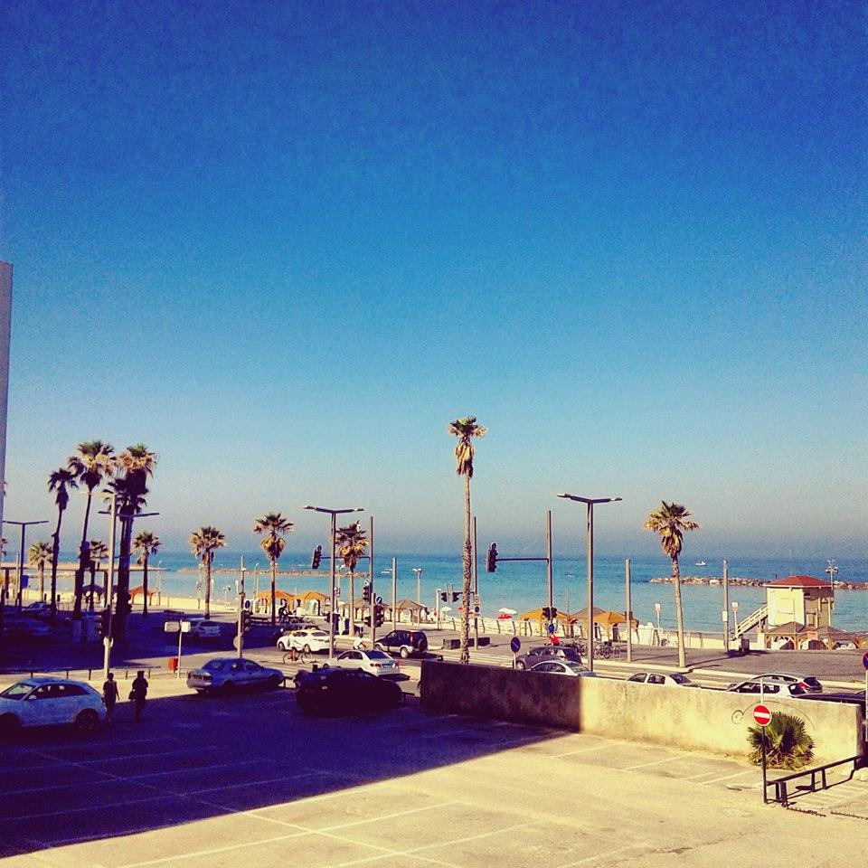 Tel Aviv today – à Tel-Aviv Tayelet. 20 avril 2016