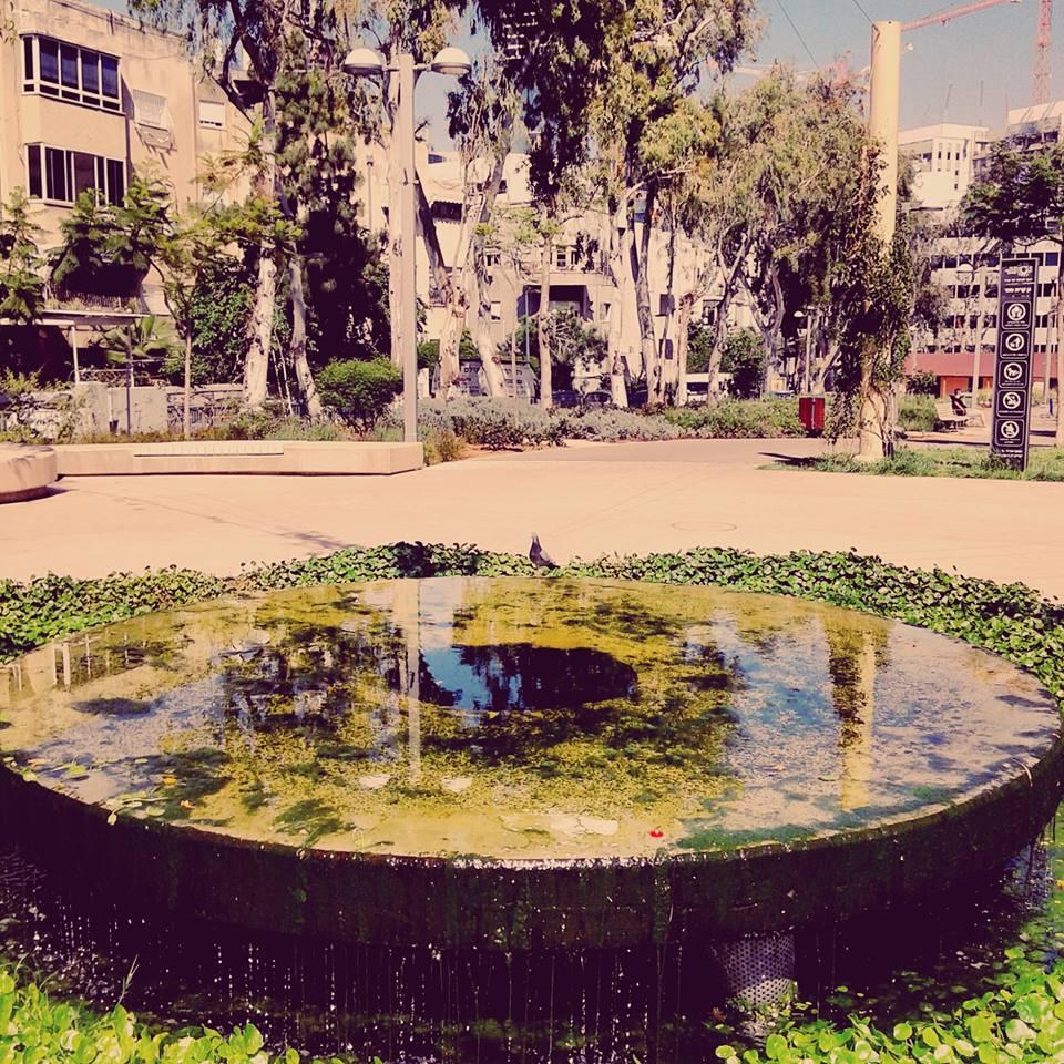 Tel Aviv today – à Kiryat Sefer garden. 18 avril 2016
